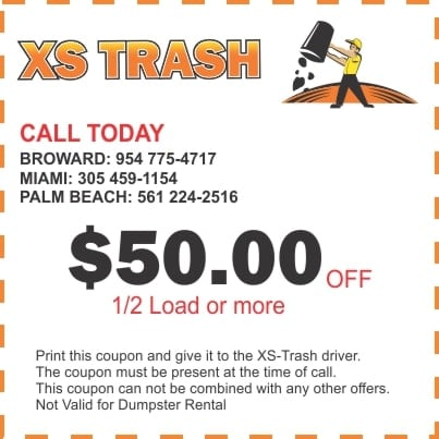 Junk Removal Online Coupon